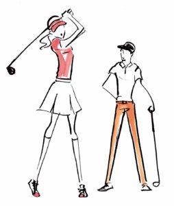 RE:DAY イラスト ゴルフ